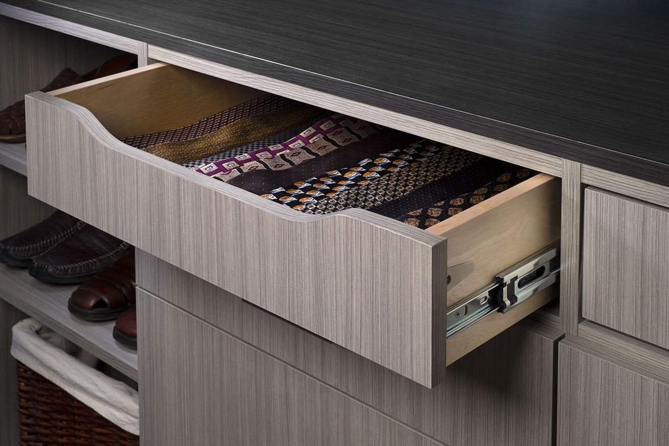 Scoop Drawer - Concrete